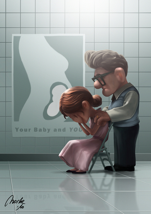 Up movie and experiencing infertility