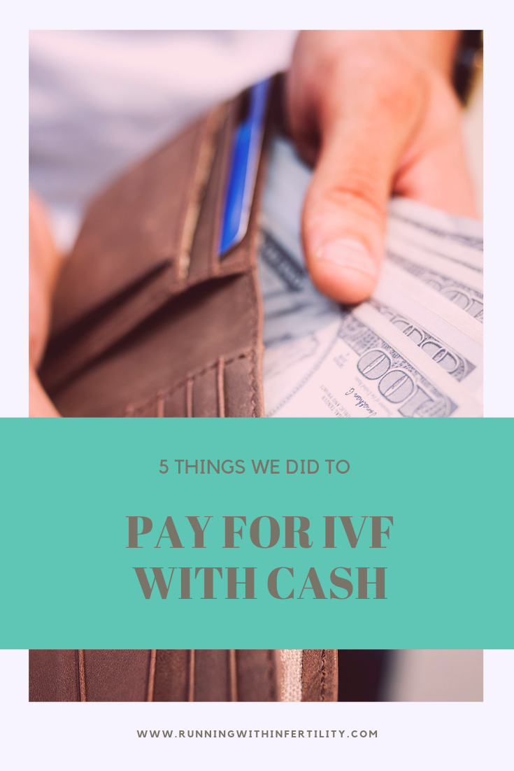 paying for ivf with cash
