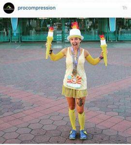 Lumiere Costume Dopey Challenge Training
