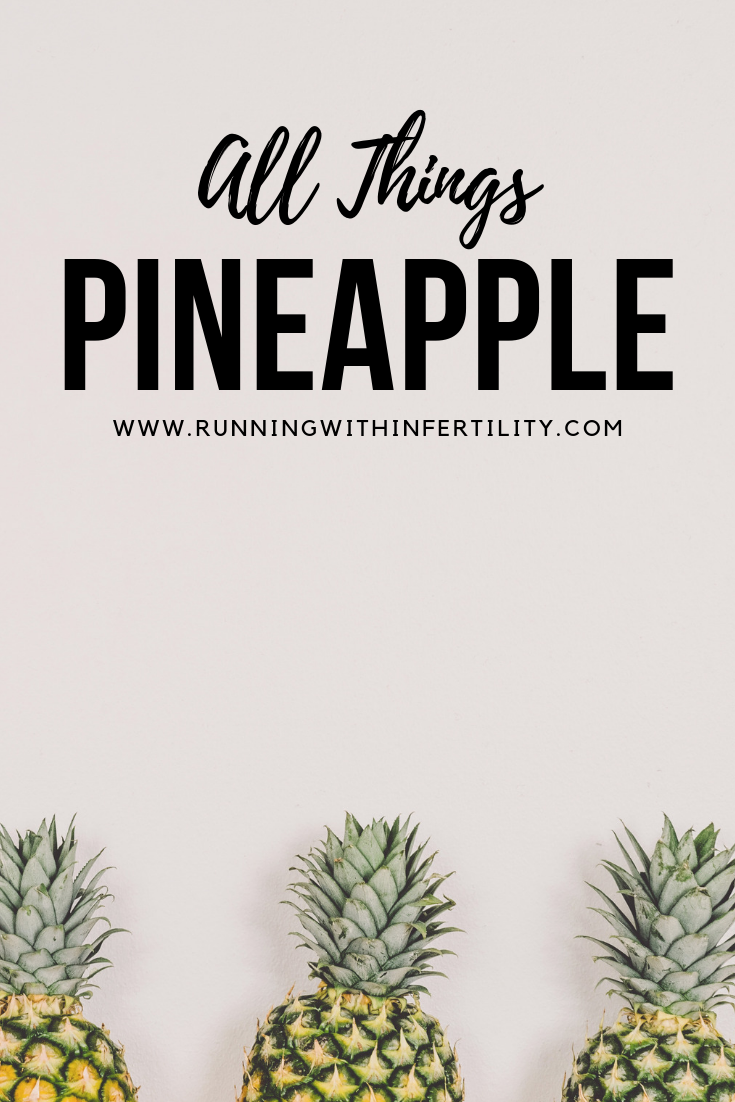 All Things Pineapple Blog post