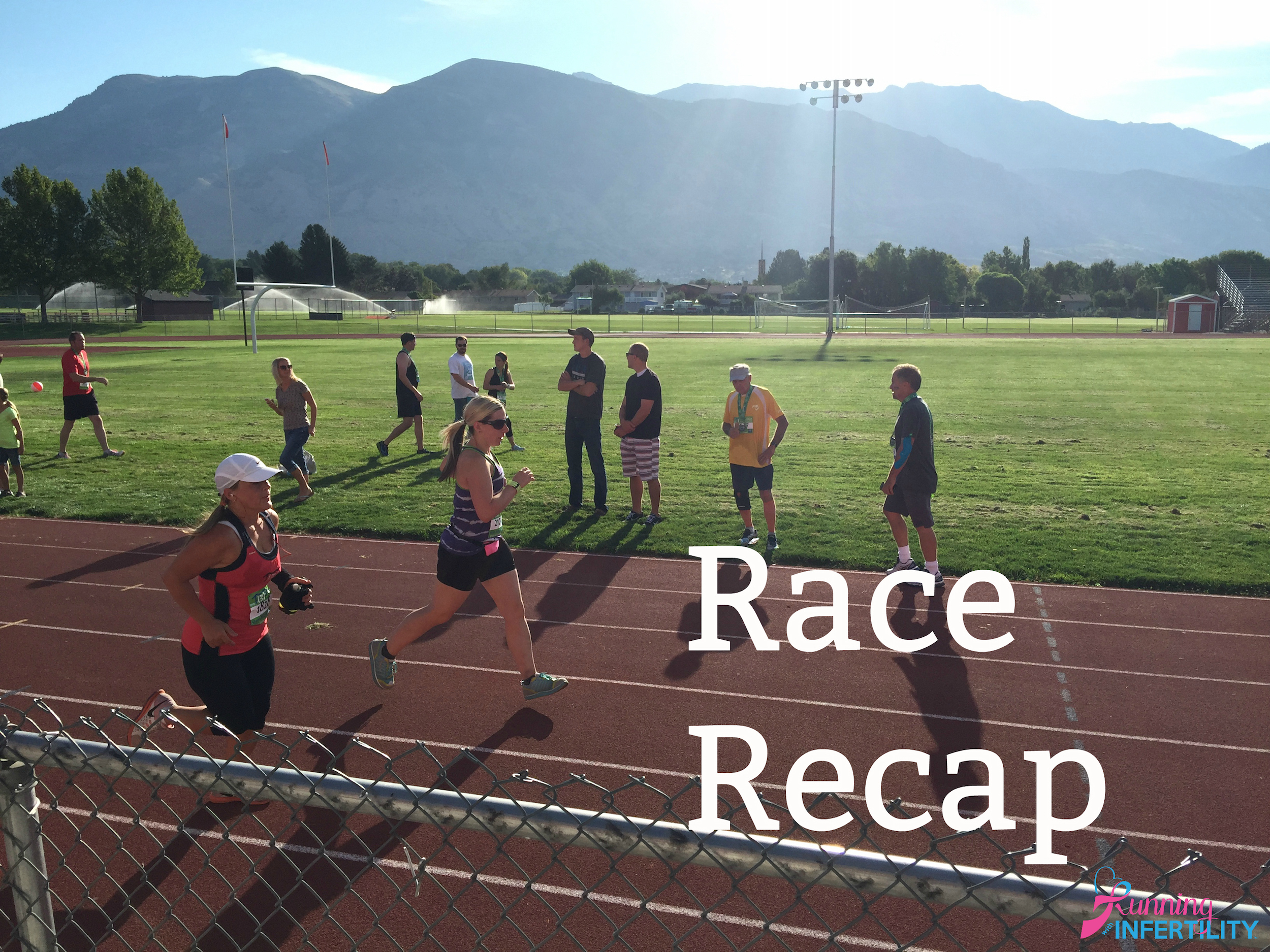 running with infertility race recaps