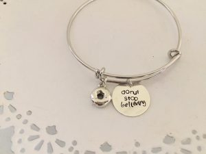 Donut Stop Believing Bracelet