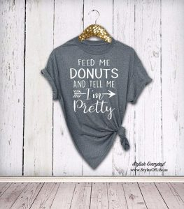 Styles of Life Donut Shirt
