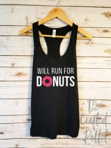 Will Run for Donuts Tank