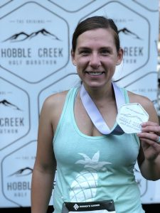 at the hobble creek half marathon
