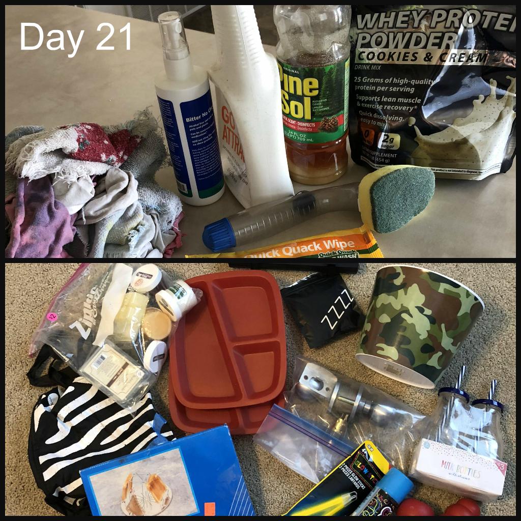 Minimalist Challenge Day 21