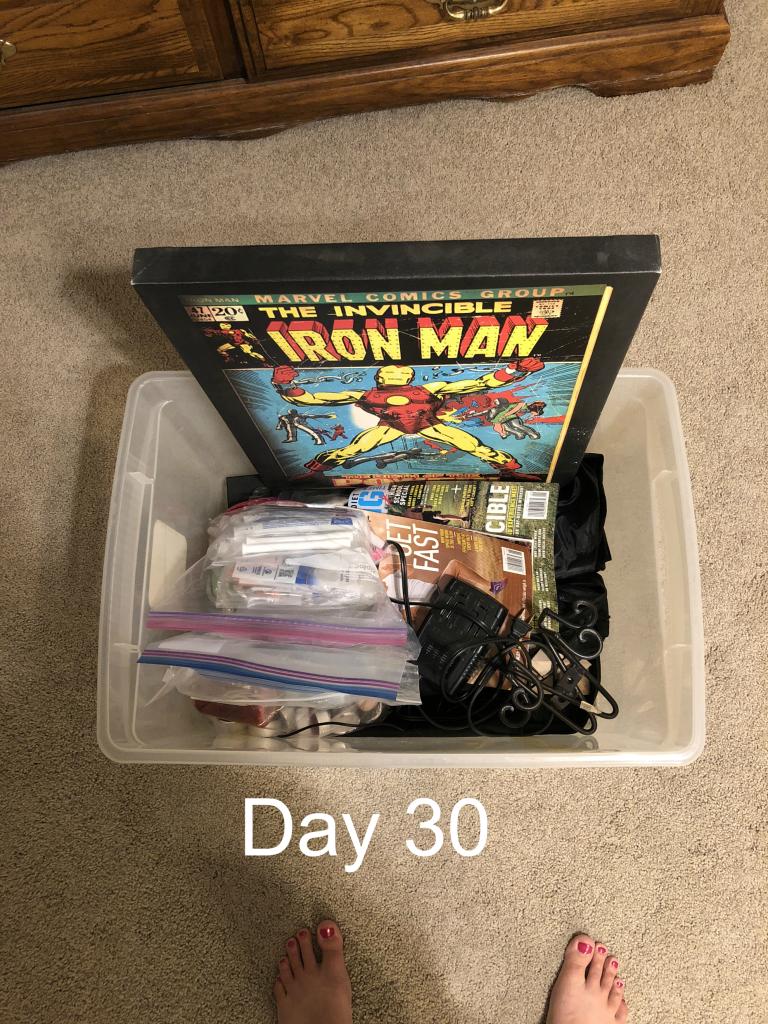 Minimalist Challenge Day 30
