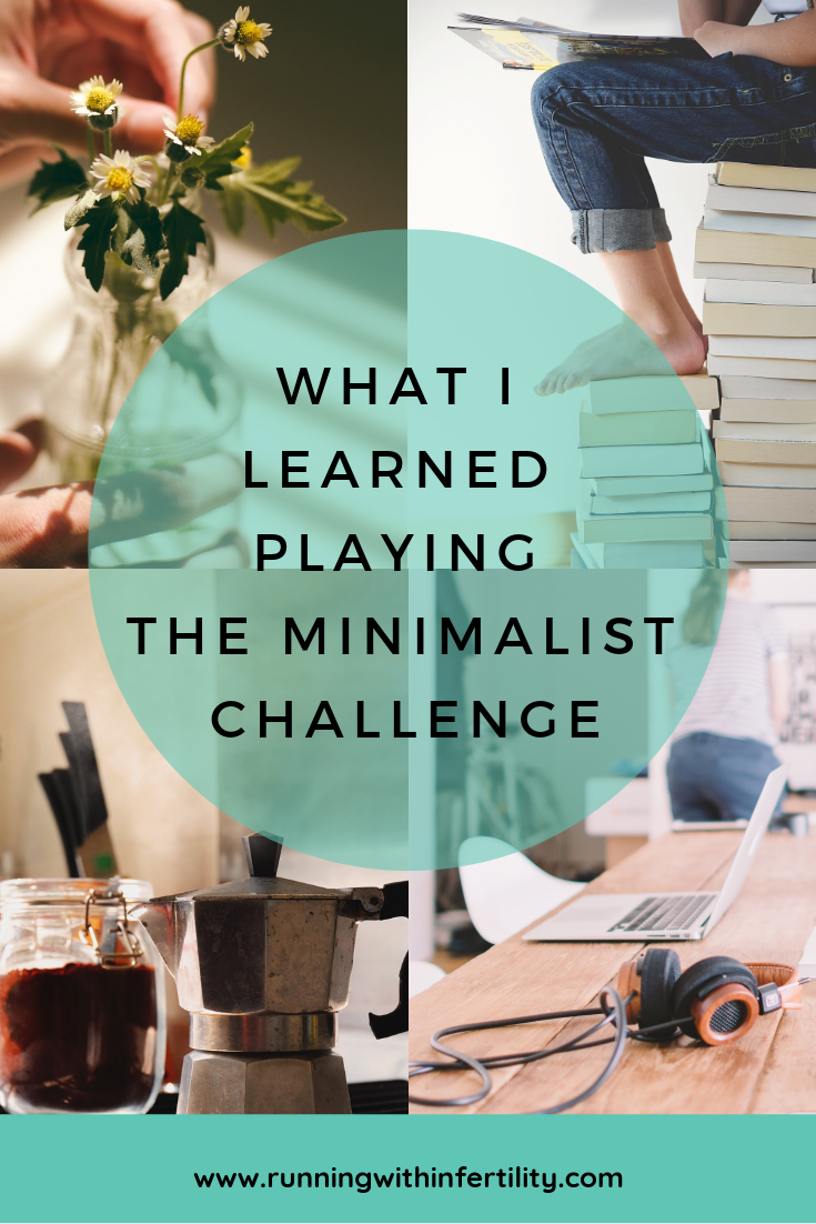 What I learned playing the minimalist challenge