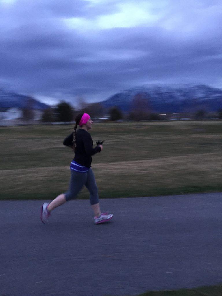 6 mile coldish run in April