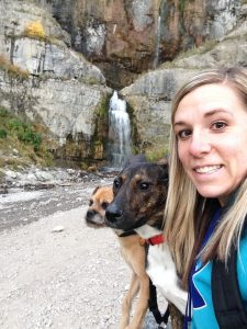 Stewart Falls Provo Canyon Hiking with Dogs