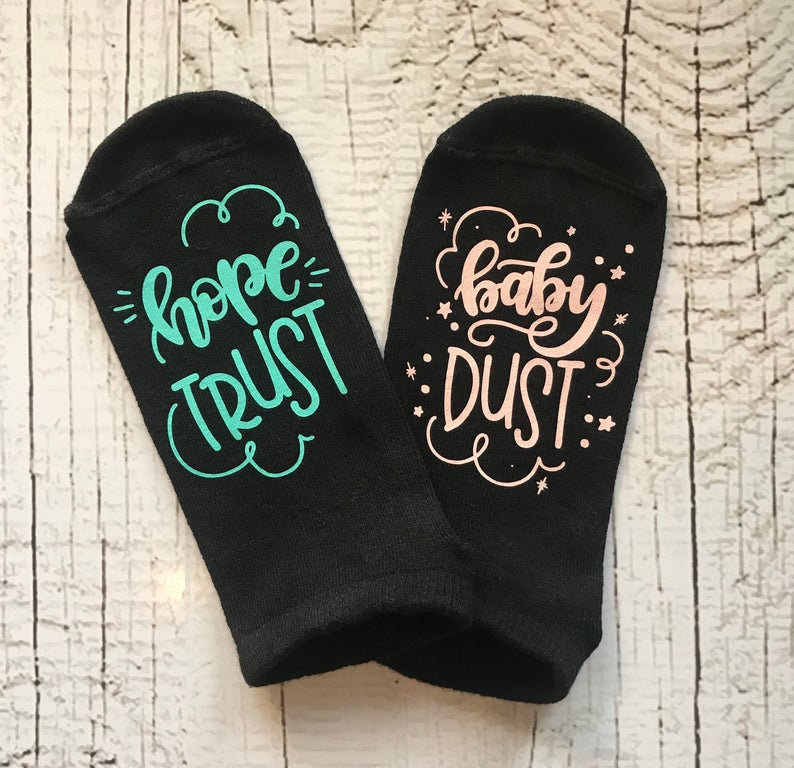 Hope Trust Baby Dust Socks Benny and Ray