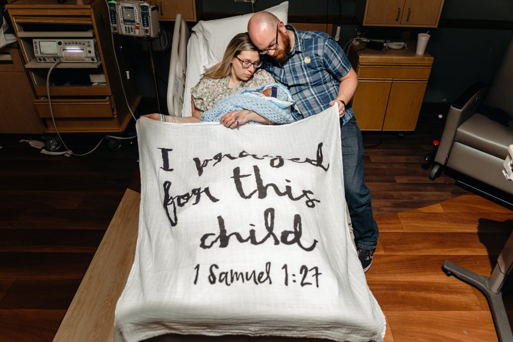 I prayed for this child - Ethans birth story - stillborn but still loved